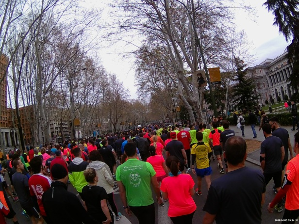 Salida Media Maraton de Madrid