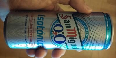 cerveza san miguel 0,0 isotonica