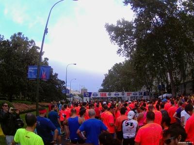 Salida Energy Global Race Madrid