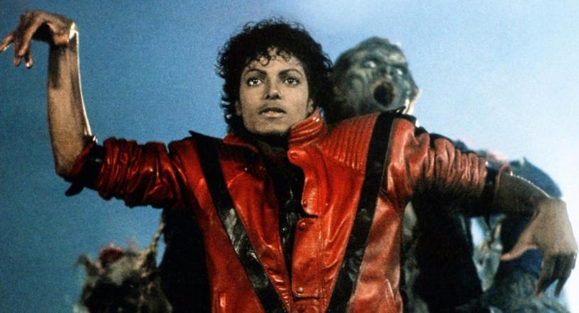 Michael Jackson marcandose un bailecito