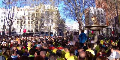 Salida media maratón Madrid 2017
