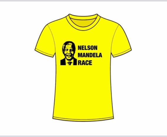 Camiseta de la Nelson Mandela Race de Madrid 2017