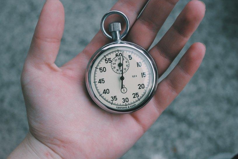 reloj de bolsillo pulsometro retro