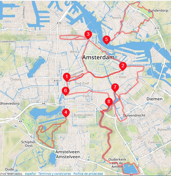 Amsterdam Running Routes