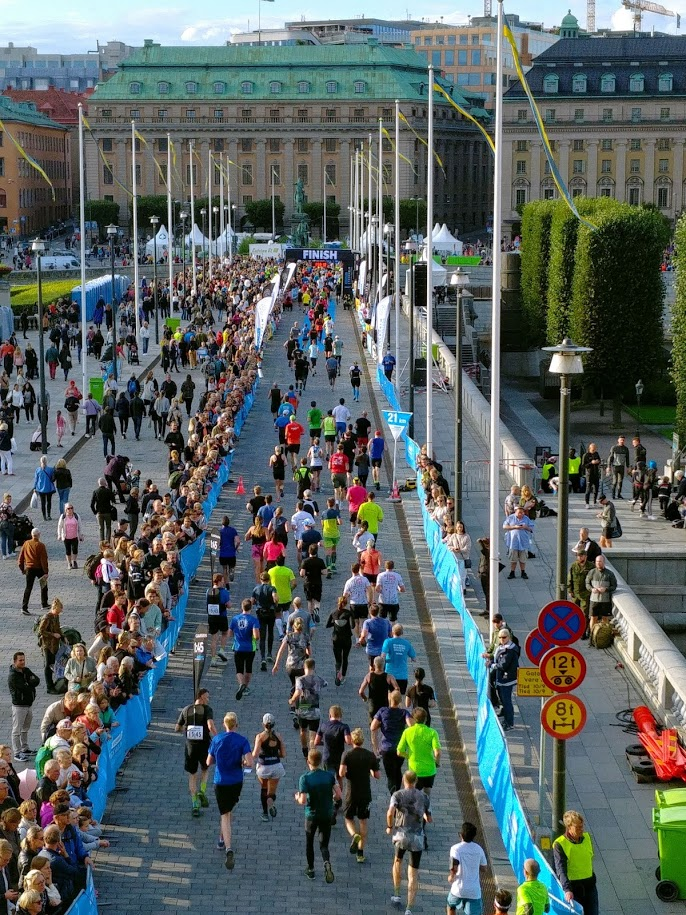 Meta Media Maratón de Estocolmo 2019